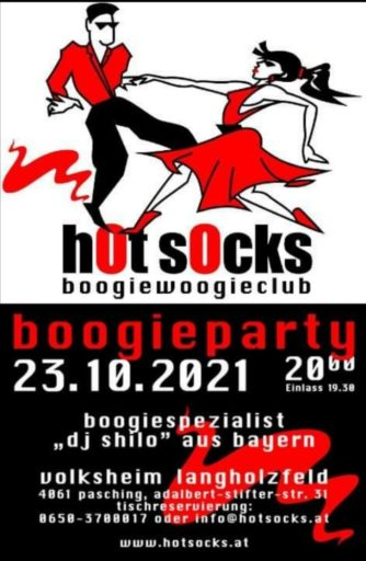 Boogie Party:  hot socks
